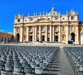 The Papal Audience and Vatican City