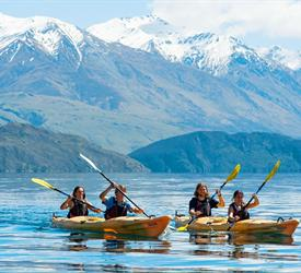 The Southern Explorer, Water Activities in New Zealand