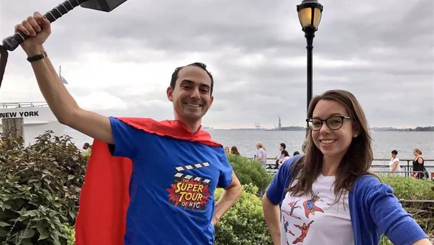 Super Heroes, The Super Tour of NYC