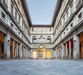 The Uffizi Gallery, Walking Tours in Italy