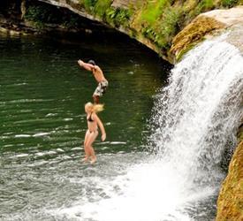 San Jose Maya Inmmersion and Waterfall