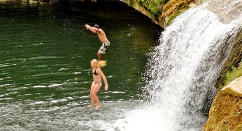 1, San Jose Maya Inmmersion and Waterfall