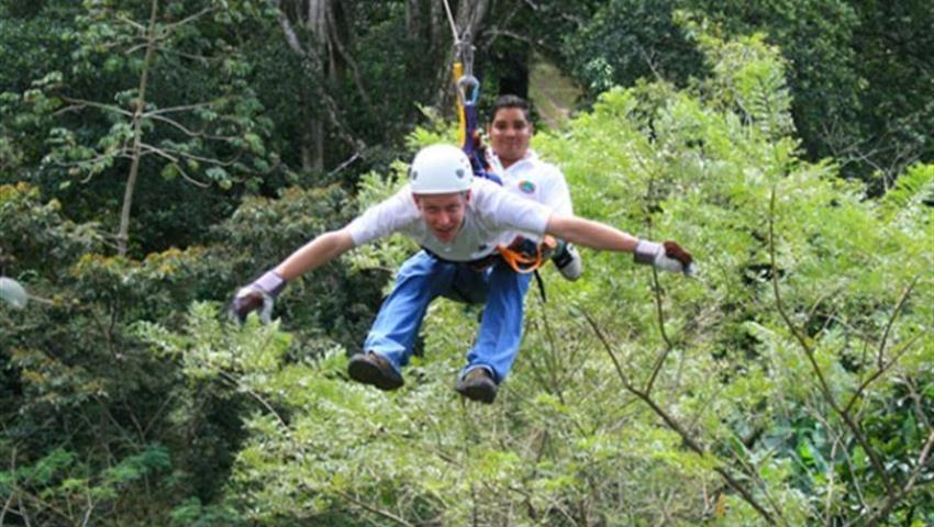 Mombacho Xpress and Canopy Tour, Mombacho Xpress and Canopy Tour