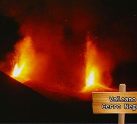 Viaje a Volcán Cerro Negro, Tours De Volcanes en Nicaragua