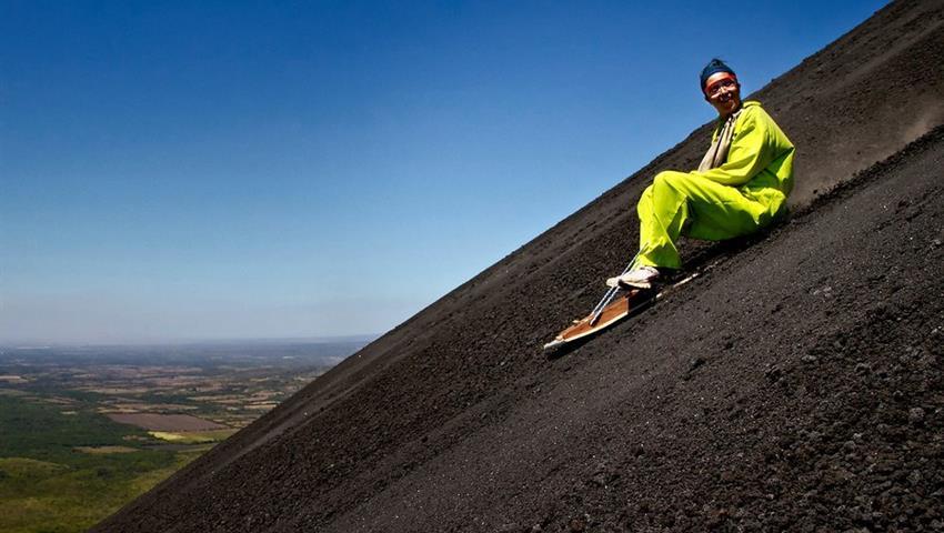 1, Volcano Boarding Hacia Abajo Tour