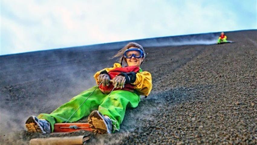 3, Volcano Boarding Hacia Abajo Tour
