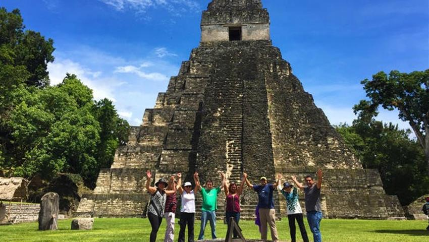 03, Recorrido Diario a Pie por Tikal
