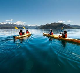 Tiki Tour, Water Activities in New Zealand