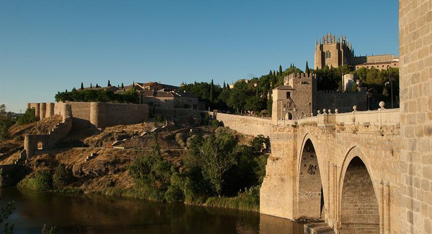 Famous bridge in Toledo - Tiqy, Toledo and Centenary Winery