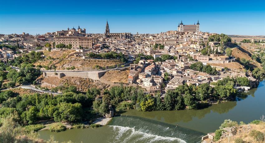 Panoramic view of Toledo - Tiqy, Toledo and Centenary Winery