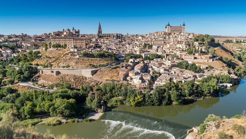 Panoramic view of Toledo - Tiqy, Toledo and Centenary Winery