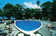 Swimming pool at the hotel in Tortuguero, Tortuguero National Park