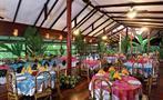 Restaurant at the hotel el tortuguero, Tortuguero National Park