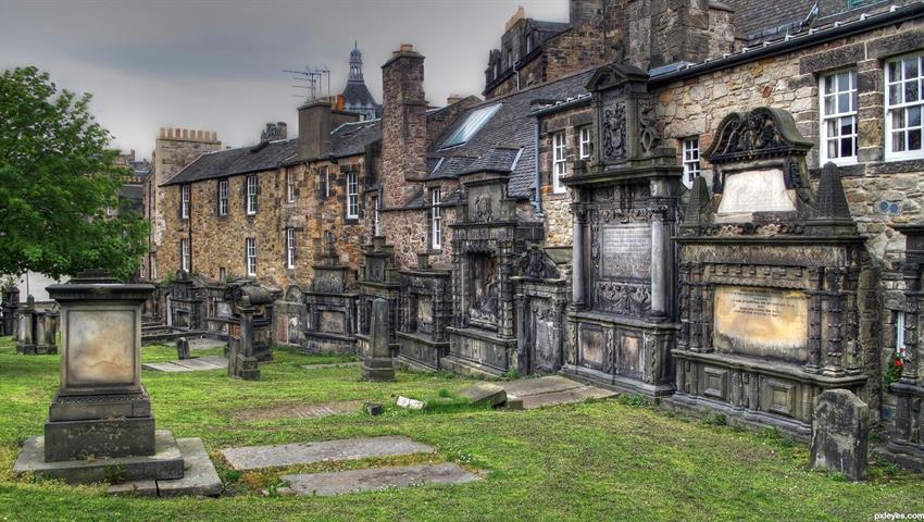 Cemetery of Greyfriars tiqy, Tour of Fear