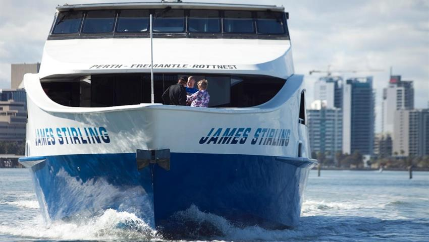 boat tiqy, Tram and Swan River Lunch Cruise