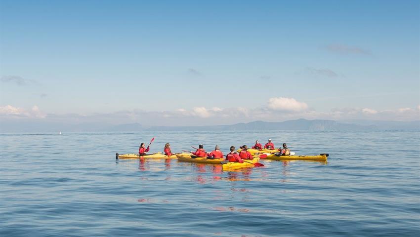 kayak tiqy, Twilight on the Lake Tour