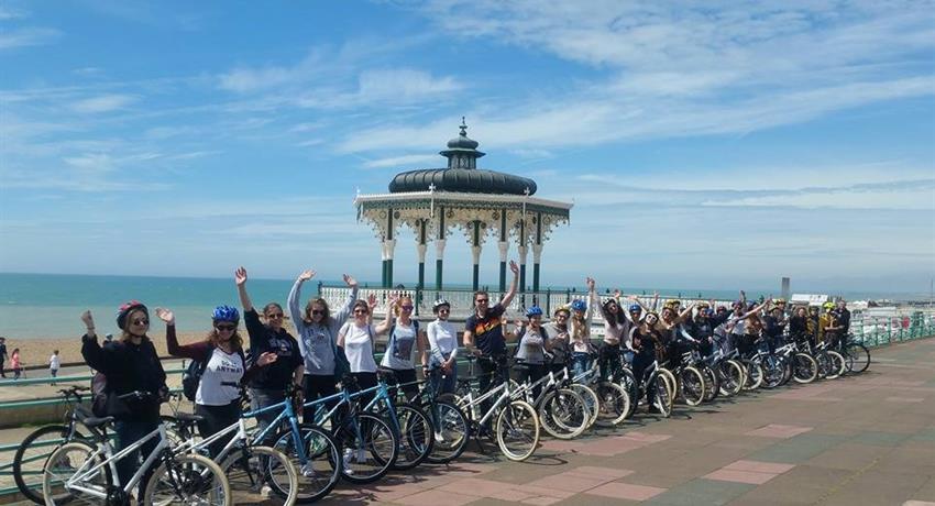 Twilight Tour with Brighton Bike Tour, Twilight Tour
