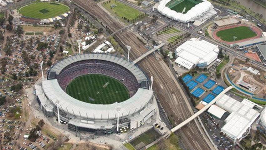 Ultimate sport tour rod precinct, Mega Melbourne Tour