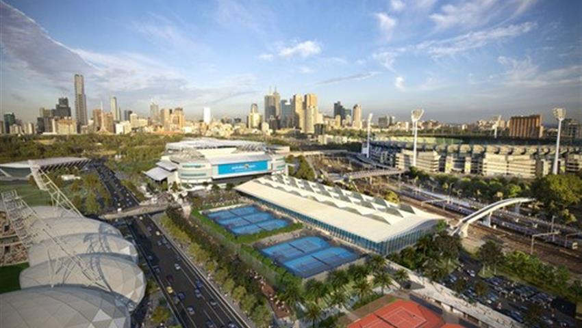 Ultimate sport tour easter plaza, Mega Melbourne Tour
