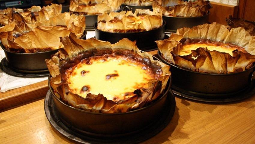 cheesecake for desert - tiqy, Ultimante San Sebastian Pintxos and Wine Tour