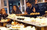 Tasting of anchoas and pork - tiqy, Ultimante San Sebastian Pintxos and Wine Tour
