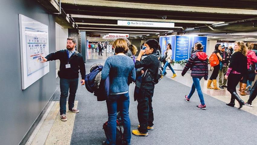 Metro Tour, Underground to Summit Indoor Walking Tour