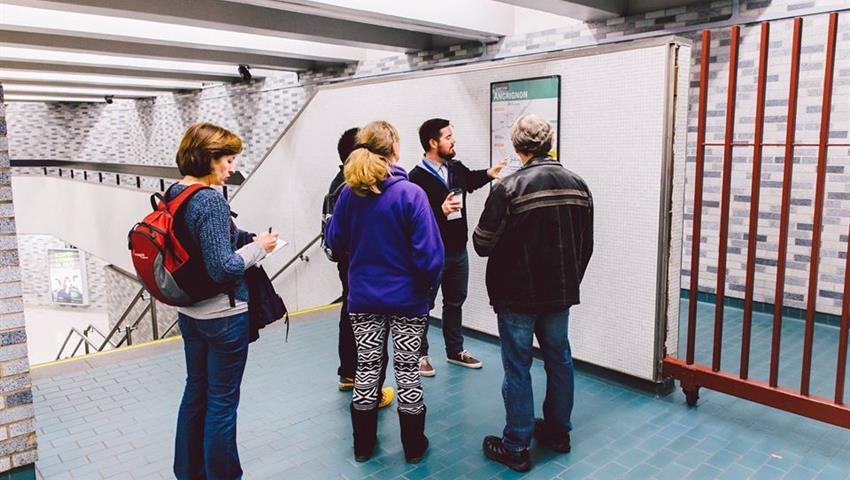 Montre Tour, Underground to Summit Indoor Walking Tour