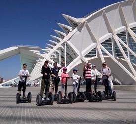 Valencia Night Tour on Segway