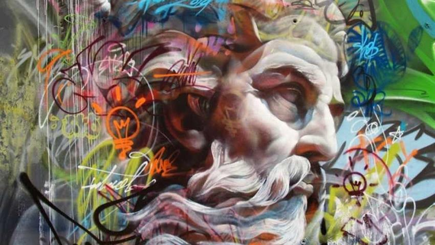 art in El Barrio del Carmen - tiqy, Valencia Street Art Free Walking Tour