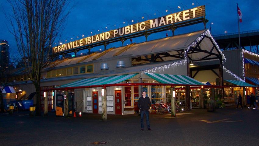 Market Tour, Recorrido por la Ciudad Vancouver
