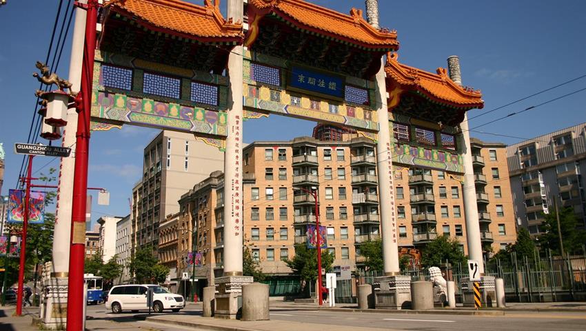 Chinatown, Recorrido por la Ciudad Vancouver