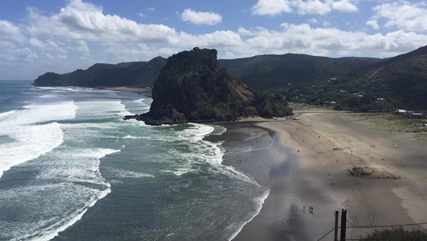 Blanck sand beach tiqy, Vineyards Honey and Black Sand Beaches
