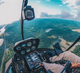 Tour VIP en Helicóptero Robinson 44 en la Ciudad de Panamá con Transporte Incluido