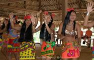 Embera Katuma 3, Visit to Monkey Island and Embera Community from Gamboa Public Pier