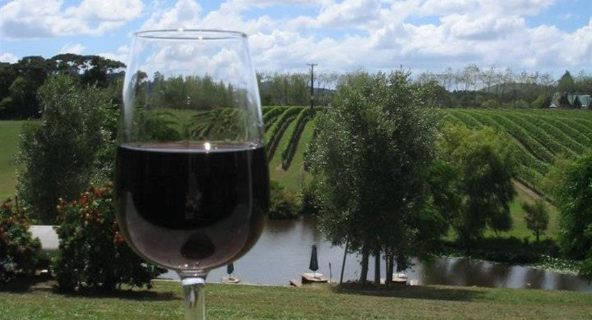 glass of wine, Volcano, Black Sand and Country Market Tour