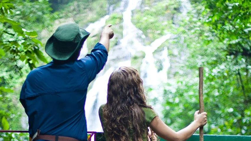 great view of El Macho - tiqy, Waterfall El Macho Trekking Tour