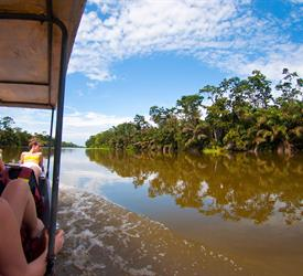 Tortuguero Canals One Day Tour