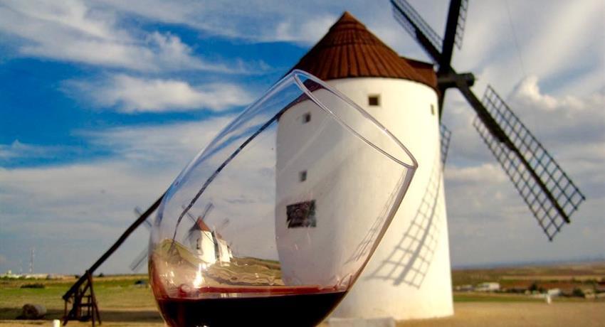 wine tasting - tiqy, Windmills of Don Quixote Wine Tour