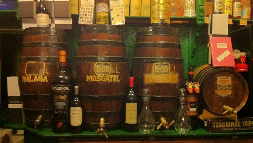 many kind of drinks - tiqy, Wine and Tapas Route