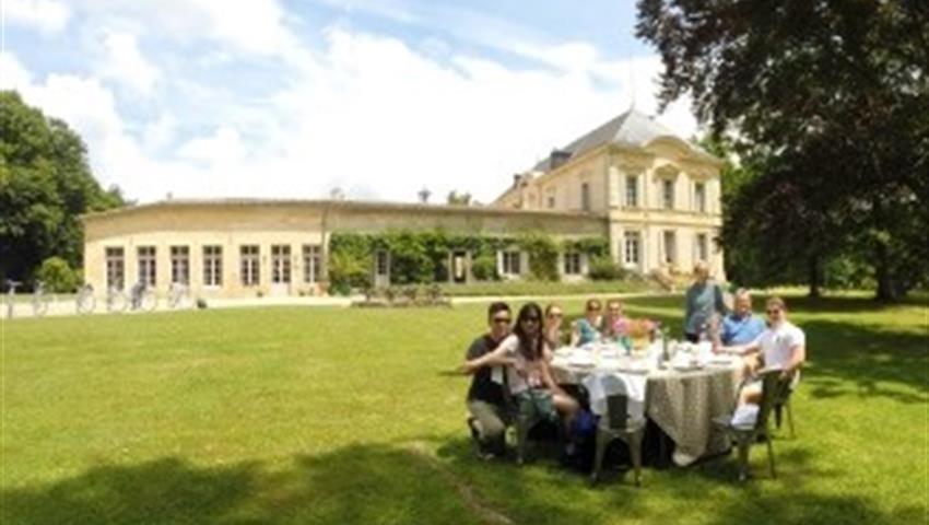 wine and bike tour in st emilion garden, Wine and Bike Tour in St Emilion