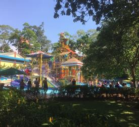 Xetulul and Xocomil Theme Parks in Rethaluleu