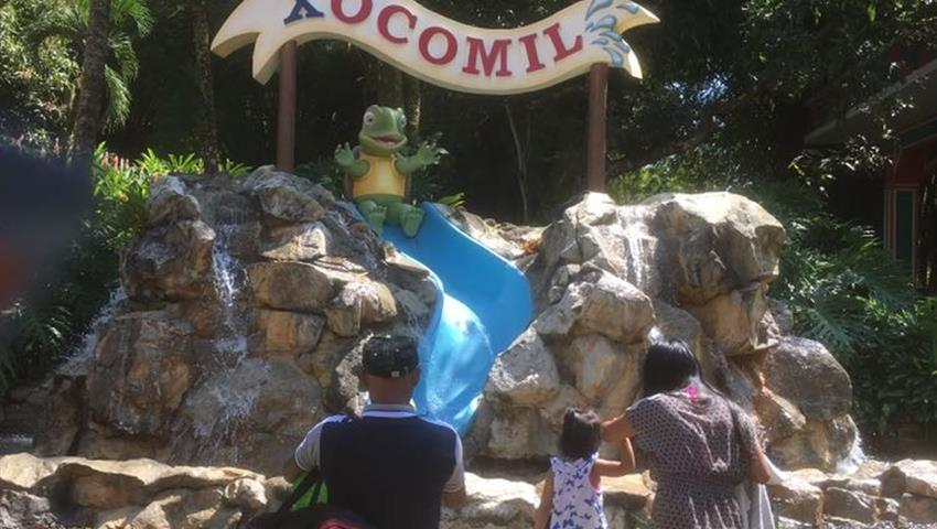 Xocomil Theme Parks in Rethaluleu, Xetulul and Xocomil Theme Parks in Rethaluleu