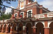 Xocomil Theme Parks in Rethaluleu church, Xetulul and Xocomil Theme Parks in Rethaluleu