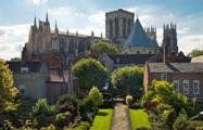 Cathedral and Viking center1, York, The Cathedral and Viking's Day Trip