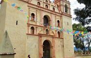 Zapotrek old church in oaxaca, The Historical Zapotec Trail