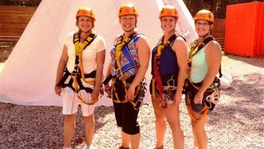 Zipline and Wine Tour, Tour de Zipline y Vino